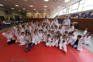 Remise de grade au judo club de Petite Rosselle